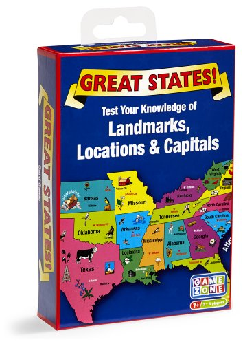 (Quercetti Great States Card Game)