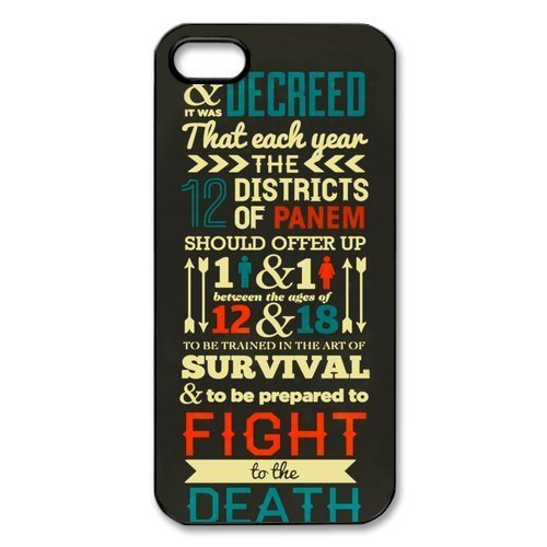 The Hunger Games: Catching Fire iPhone 5 5S Best Durable Cover (Diy Hunger Games)