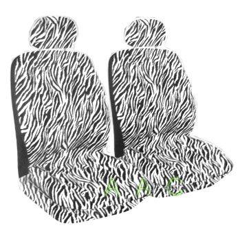zebra print bucket seat covers - 3