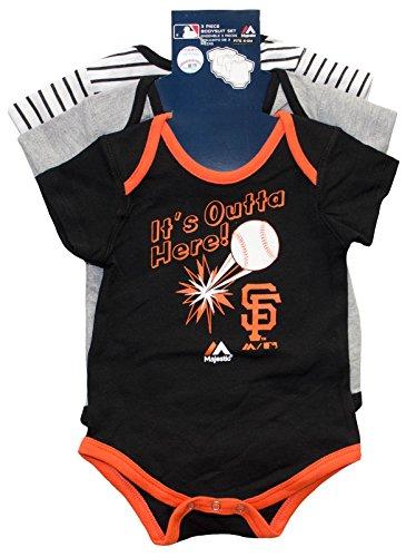 San Francisco Giants Homerun Newborn 3-Piece Set (0/3 (Home Run Set)