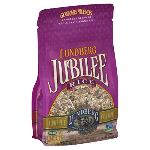 Lundberg Family Farms Rice Brown Jubilee Gluten Free, 16 oz