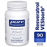 Pure Encapsulations - Resveratrol VESIsorb - Hypoallergenic Support for Cellular, Cardiovascular, and Neurocognitive Health* - 90 Caplique Capsules