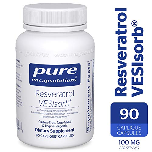 Pure Encapsulations - Resveratrol VESIsorb - Hypoallergenic Support for Cellular, Cardiovascular, and Neurocognitive Health* - 90 Caplique Capsules by Pure Encapsulations (Image #9)