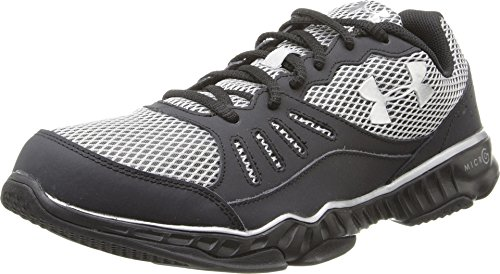 Under Armour Mens Micro G Pulse TR II, Black/Black, 12 D (Pulse Ii Running Shoes)