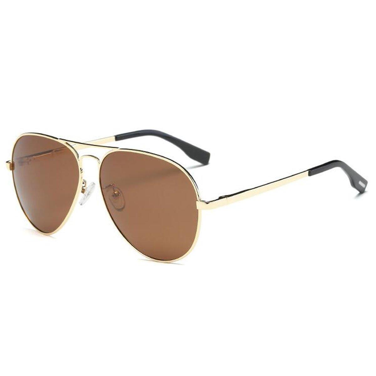 YUFENRA Polarisierte Aviator/Flieger Sonnenbrille für Männer und ...