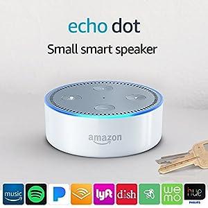 Echo Dot (2nd Generation) International Version - White from Echo