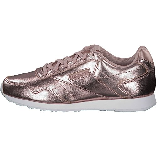 sandy Gold rose Pink shell Fitness white Reebok De Royal Glide Lx Multicolore Rose 000 Femme Chaussures 68agPz