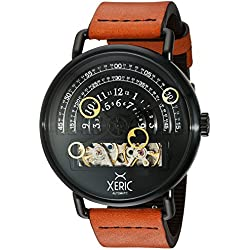 Xeric Men's Halo Graph Automatic Black Tan Limited Edition Watch