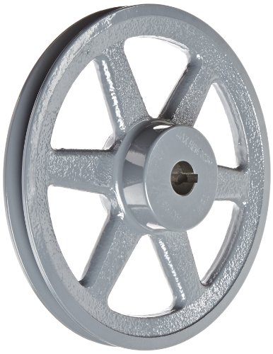 Gates AK79 Light Duty Spoke Sheaves, AK Type, 7.75'' OD, 1 Groove, 3/4'' Bore by Gates