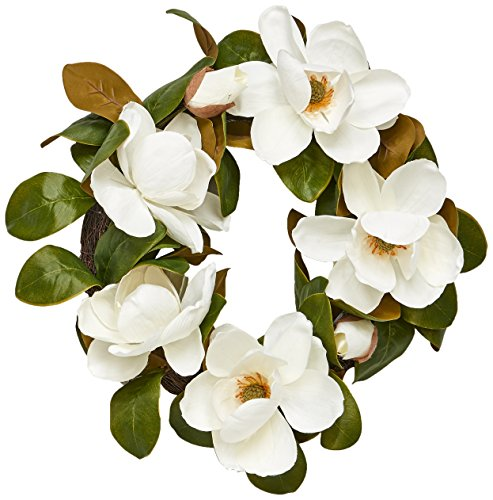 Magnolia Floral Wreath (Worth Imports 22