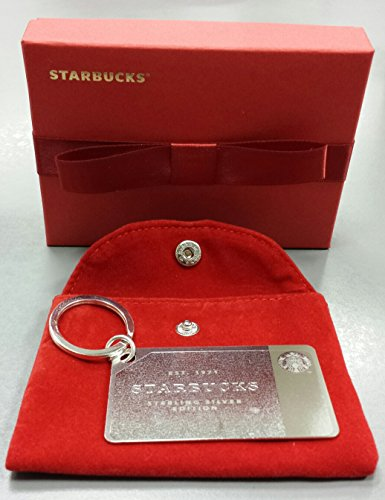 Starbucks 2014 Holiday Sterling .925 Silver Mini Gift Card ...