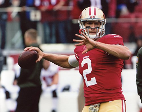BLAINE GABBERT SAN FRANCISCO 49ERS 8X10 SPORTS ACTION PHOTO (FF)