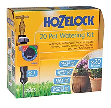 Hozelock 2803 0000 20 Pot Automatic Watering Kit With Ac Plus