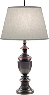 product image for Stiffel TL-A623-A625-OB One Light Table Lamp, Oxidized Bronze Finish with Cream Aberdeen Shade