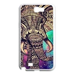 Aztec Elephant Custom Iphone 5C , Personalized Aztec Elephant Case