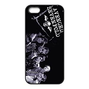 iPhone 5, 5S Phone Case Avenged Sevenfold F5O7437