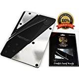 Credit Card Wallet Knife Holtzman's- Great Folding Pocket knife & Survival Tool, Durable, Stainless Steel You'll Love It!!