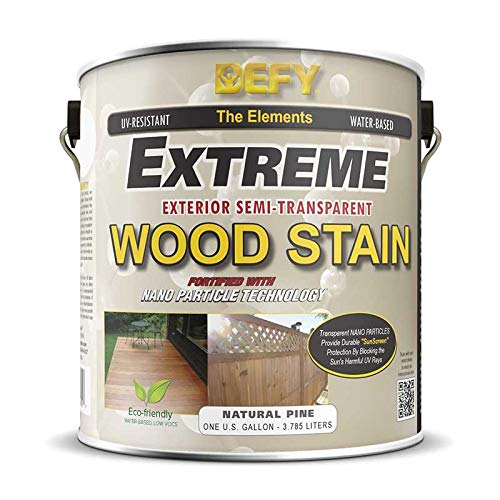 Defy Extreme Wood Stain Natural Pine 1-gallon (Paint Wood Pine)