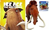 Ice Age: The Meltdown Manny Collection featuring the Icons Edition with Manny Slip Cover & Ice Age Collision Course Manny the Mammoth Action Figure Bundle