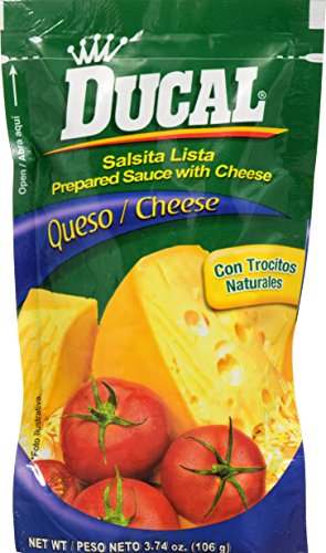 Ducal Tomatina with Cheese Pouch, 3.7 Ounce (Pack of 24)