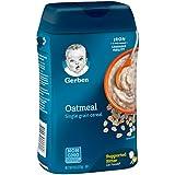 Gerber Single-Grain Oatmeal Baby Cereal, 8 Ounces
