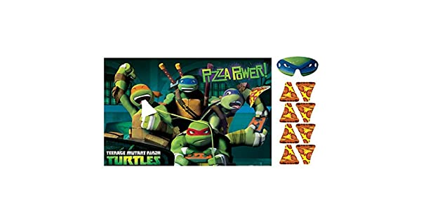 Amazon.com: Teenage Mutant Ninja Turtles Party Game ...