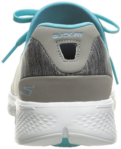 gybl 4 Zapatillas Para Gris c Mujer d Go Walk a Skechers gRpvwBq