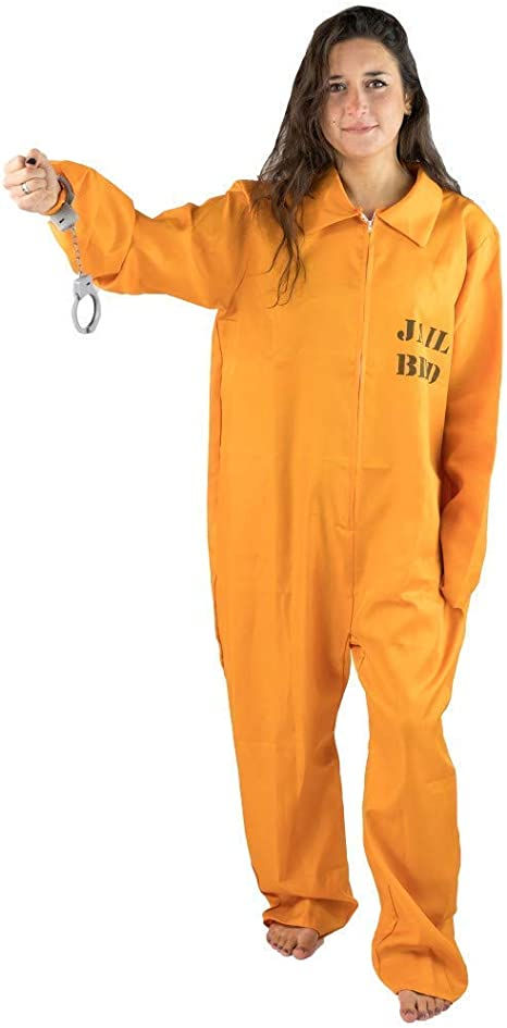 Bodysocks Fancy Dress Disfraz de Recluso Cárcel para Hombre ...