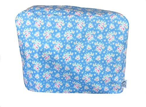 Cozycoverup® Dust Cover for Kenwood Food Mixer in Blue Floral (Chef XL Titanium KVL8300S)