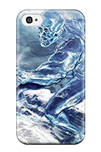 New Arrival Cover Case With Nice Design For Iphone 4/4s- Silver Surfer