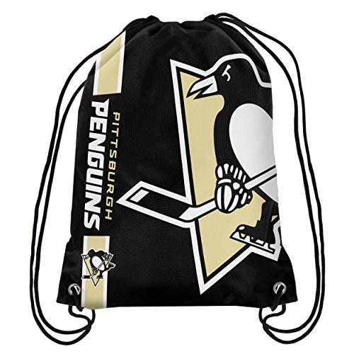 Pittsburgh Penguins Big Logo Drawstring Backpack