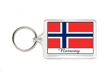 Amazon.com: Souvenir Bandera de Noruega Noruego acrílico ...