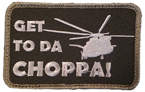 Helicopter Patch - [Single Count] Custom, Cool & Awesome {4