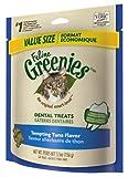 Feline Greenies Dental Treats Tempting Tuna for Cats, 5.5-Ounce, My Pet Supplies
