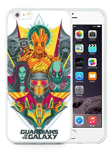 iPhone 6 Plus TPU Case,Guardians Of The Galaxy White iPhone 6S Plus 5.5 Inches Cover Case (Guardians Of The Galaxy For Sale)