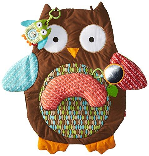 Skip Hop Hug (Skip Hop Hug-and-Hide Tummytime Playmat, Owl)