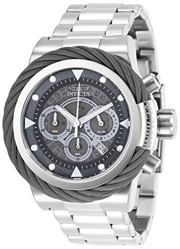 Invicta Bolt - Invicta Men's Bolt Quartz Watch with Stainless-Steel Strap, Silver, 24 (Model: 27796)