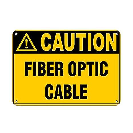 Sar54ryld - Señal de Advertencia de Peligro para Cable de ...