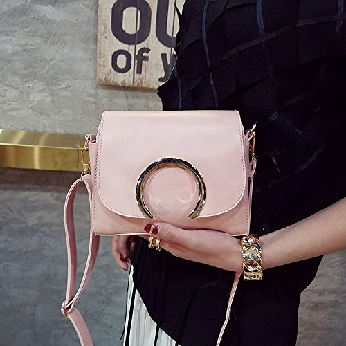 La primavera y el verano de nuevo la mujer coreana bolso bolsa tide simple cuadrado pequeño, gris black
