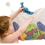 Lalang Kids Baby Bath Time Toys Storage Suction Bag Bathroom Toys Bag 4535cm