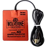 Wolverine Heaters - Model 40 - 500 Watts - Engine Oil, Reservoir, Biofuel and Hydraulic Fluid Heater - 240 Volts