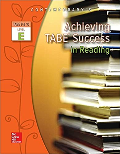 Achieving TABE Success In Reading, Level E Workbook (Achieving TABE Success for TABE 9 & 10)