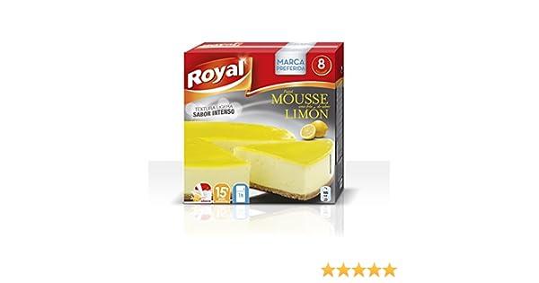 Royal Pastel Mousse de Limón - Paquete de 7 x 29.57 gr - Total: 207 gr: Amazon.es: Alimentación y bebidas
