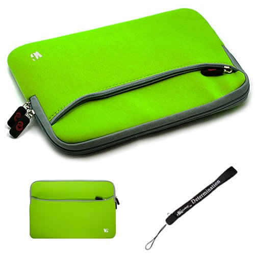 Green Slim Protective Soft Neoprene Cover Carrying Case S...