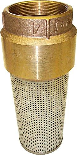 Merrill MFG 039-FV400  Red Brass Foot Valve, Series 810, 4