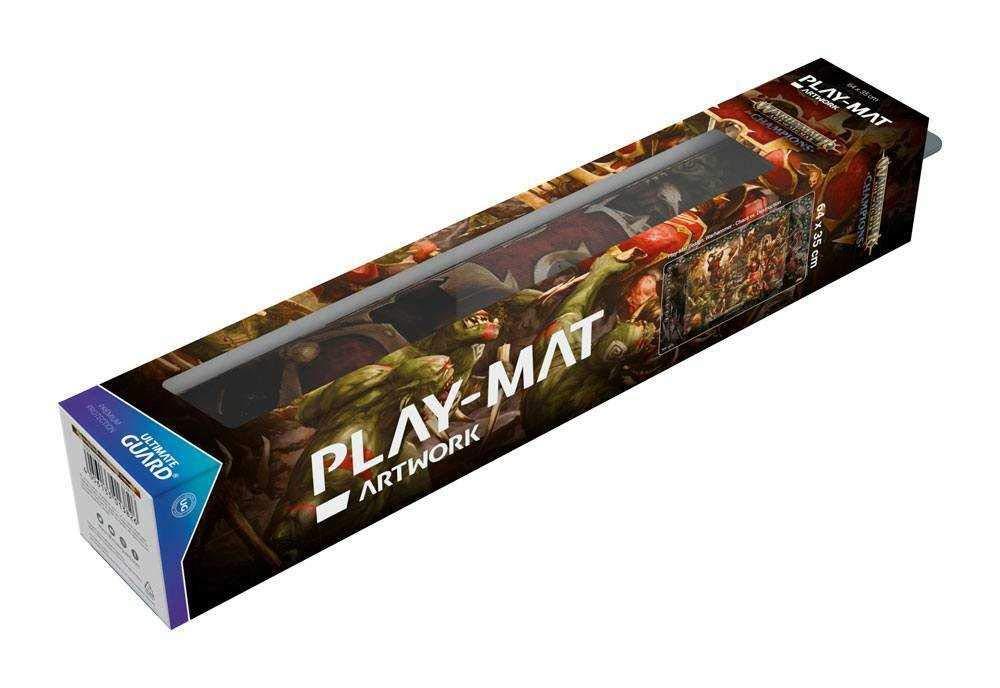 Destruction 64 x 35 cm Warhammer Age of Sigmar Champions Play-Mat Chaos vs