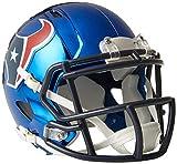 Riddell Speed NFL HOUSTON TEXANS Football Helmet Chrome Mini