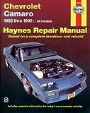 Chevrolet Camaro  '82'92 (Haynes Repair Manuals)