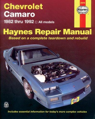 51Ta0IP3jrL Chevrolet Camaro  '82'92 (Haynes Repair Manuals)