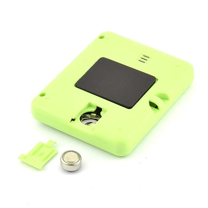 Amazon.com: eDealMax ABS pilas Mini segundo minuto de cuenta atrás Hasta reloj temporizador verde: Kitchen & Dining